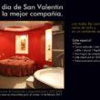Cortesía de San Valentín